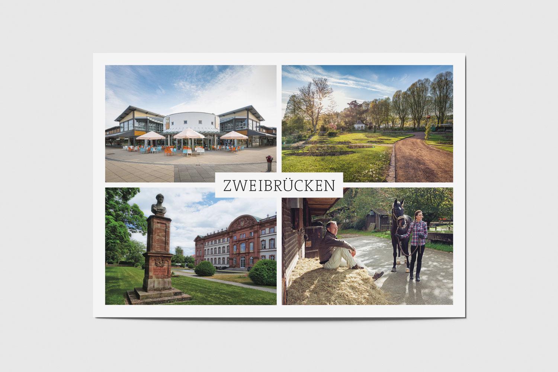 Zweibrücken: Fashion Outlet, Rosengarten, Denkmal am Schloss, Gestüt